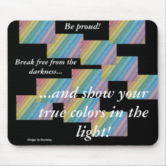 Break free from the darkness Mousepad