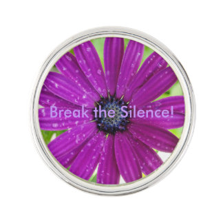 Break the Silence Lapel Pin