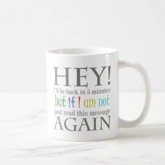 Break Time Funny Text Design Mug