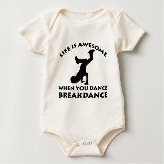 Breakdance Dance Baby Bodysuit