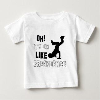 Breakdance Dance Baby T-Shirt