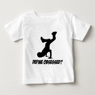 breakdance designs baby T-Shirt