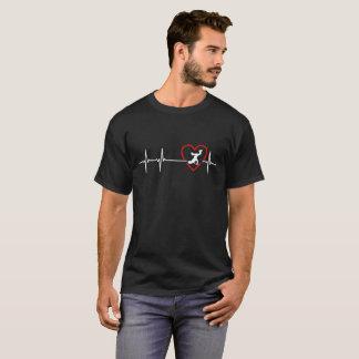 breakdance heartbeat design T-Shirt