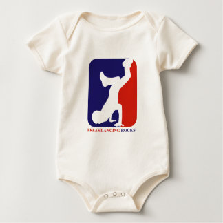 Breakdance rocks designs baby bodysuit