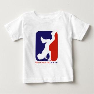 Breakdance rocks designs baby T-Shirt