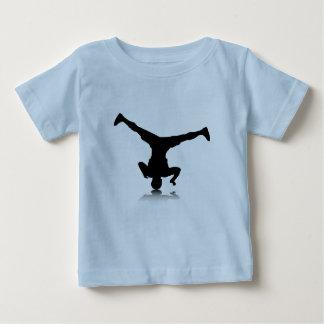 Breakdancer (spin) baby T-Shirt