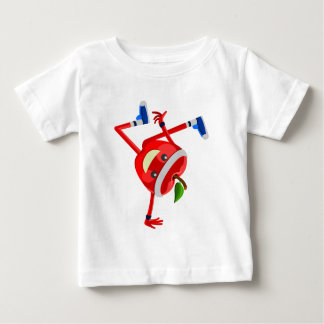 breakdancing apple baby T-Shirt