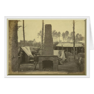 Breaking Camp, Brandy Station, Virginia Card