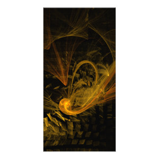 Breaking Point Abstract Art Photo Card