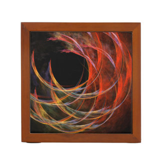 Breaking the Circle Abstract Art Desk Organiser