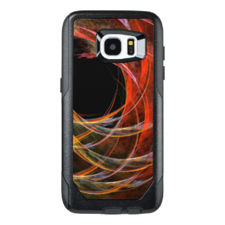 Breaking the Circle Abstract Art OtterBox Samsung Galaxy S7 Edge Case