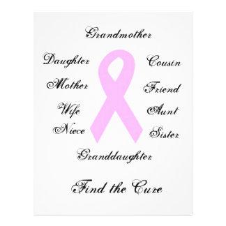 Breast Cancer Awareness 21.5 Cm X 28 Cm Flyer