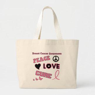 Breast Cancer Awareness Jumbo Tote Bag