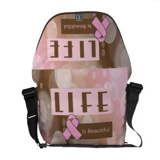 Breast Cancer Awareness Messenger Bags