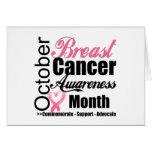 Breast Cancer Awareness Month October v3 Greeting Card