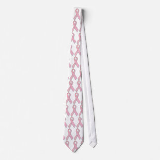 Breast Cancer Awareness Ribbon Tie