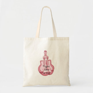 BREAST CANCER AWARENESS - think pink!! Budget Tote Bag