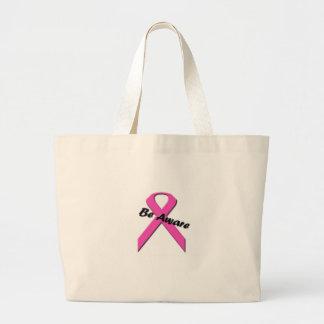 Breast Cancer Awarness Tote Jumbo Tote Bag