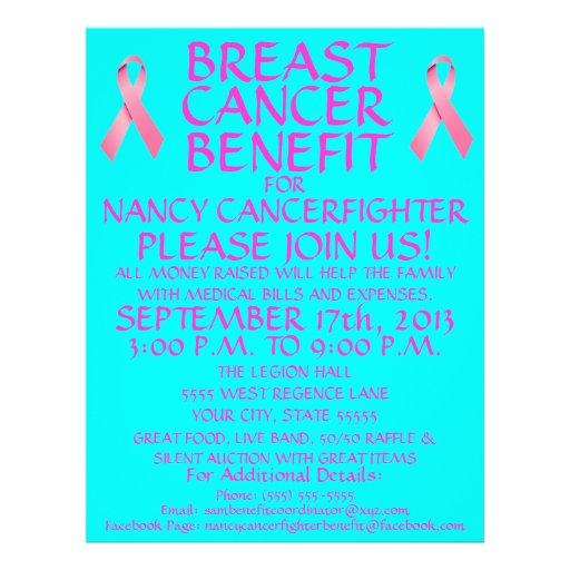 Breast Cancer Benefit Flyer
