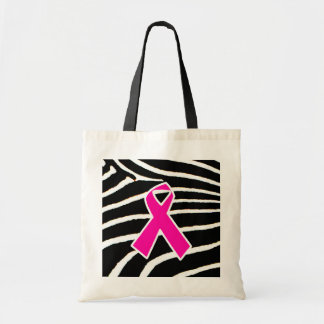 Breast Cancer Budget Tote Bag