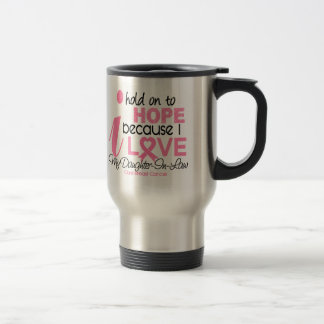 Breast Cancer Hope for My Daughter-In-Law Coffee Mugs