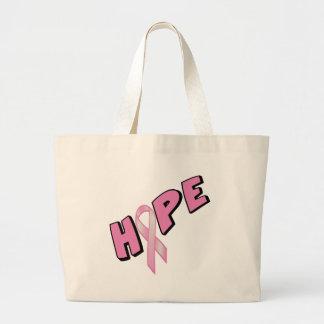 Breast Cancer Hope Large Tote Bag