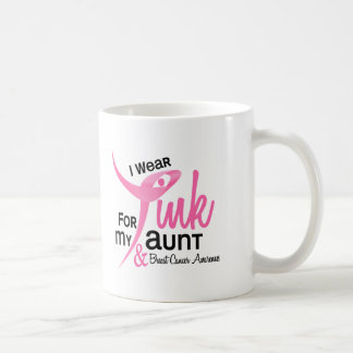 BREAST CANCER I Wear Pink For My Aunt 41 Mugs