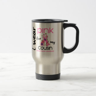 Breast Cancer I WEAR PINK FOR MY COUSIN 43 Coffee Mug