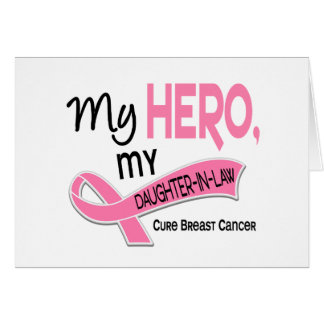 Breast Cancer MY HERO, MY DAUGHTER-IN-LAW 42 Cards