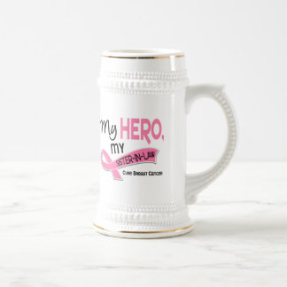 Breast Cancer MY HERO, MY SISTER-IN-LAW 42 Coffee Mugs