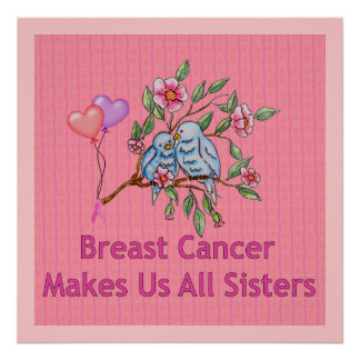 Breast Cancer Sisters Posters