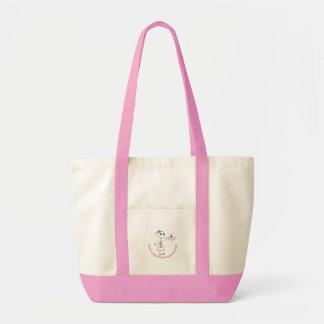 Breast Cancer - sticker 2 Impulse Tote Bag