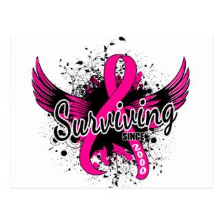 Breast Cancer Surviving Since 2000 Postcards
