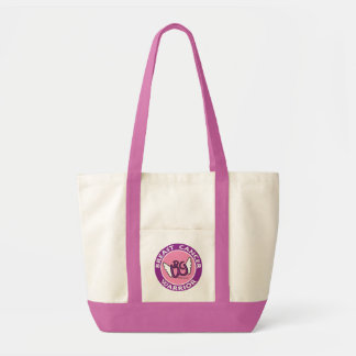 Breast Cancer Warrior Tote Impulse Tote Bag