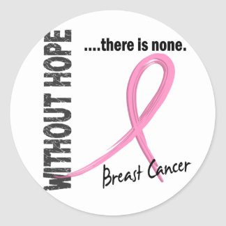 Breast Cancer Without Hope 1 Sticker