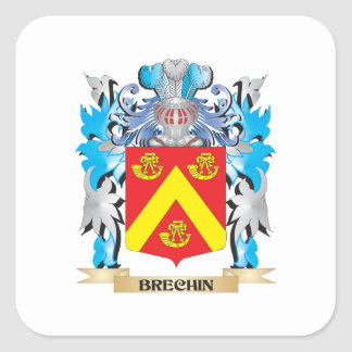 Brechin Coat of Arms Square Stickers