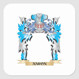Breckell Coat of Arms Square Sticker