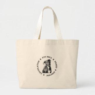 Breed Specific legislation Jumbo Tote Bag