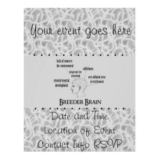Breeder Brain Personalized Flyer