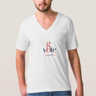 Brenda Lenard Go Vote V-neck T-Shirt