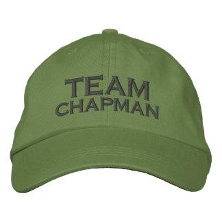 Brent Chapman Fishing Logo - Team Chapman Embroidered Baseball Cap