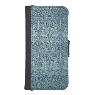 Brer Rabbit by William Morris, Textile Pattern iPhone SE/5/5s Wallet Case