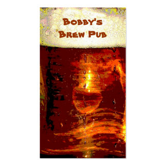 Brew Pub Business Card