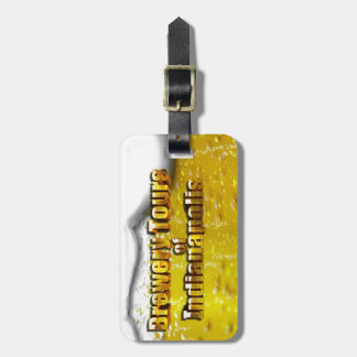 Brewery Tours of Indianapolis Luggage Tag