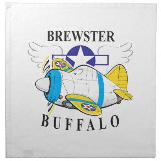brewster buffalo napkin