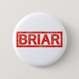 Briar Stamp 6 Cm Round Badge