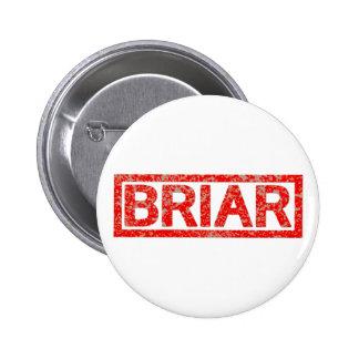 Briar Stamp 6 Cm Round Badge