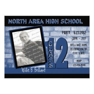 Brick 2012 Graffiti Blue Custom Announcements