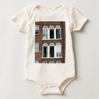 Brick Apartments Baby Bodysuit