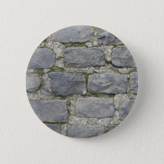 Brick Wall button, customize 6 Cm Round Badge